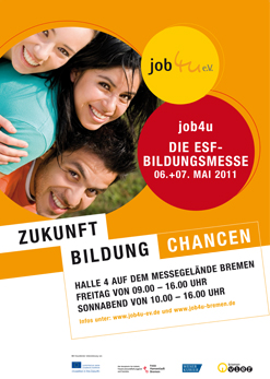 job4u - Messeplakat